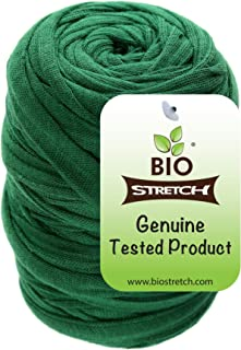 Biostretch, weiche, dehnbare Gartenschnur, umweltfreundlich, intelligenter, nicht verdrehbarer, Pflanzenbinder Bio 1 Rolle