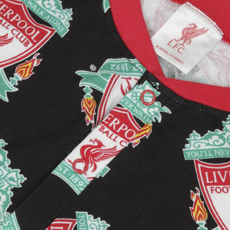 gar/çon//Enfant//b/éb/é Pyjama th/ème Football Liverpool FC Officiel