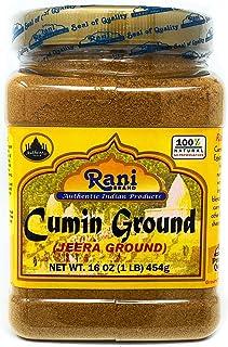 Rani Cumin (Jeera) Powder Spice 16oz (454g) ~ All Natural | Vegan | Gluten Free Ingredients | NON-GMO | Indian Origin