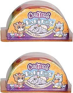 Cutetitos Babitos, Mystery Stuffed Animals - Collectible Plush Multicolour - Bundle of 2