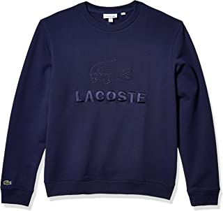 Mens Long Sleeve Graphic Fleece Sweatshirt
