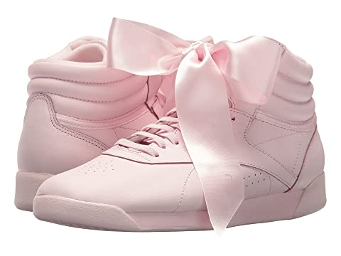 5b0cdc7eeb2 Reebok Lifestyle Freestyle Hi Satin Bow at 6pm