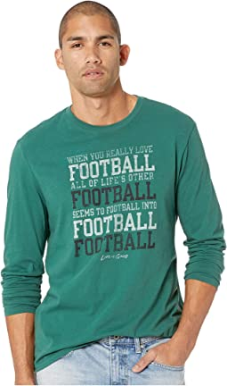 Football Smooth Long Sleeve T-Shirt