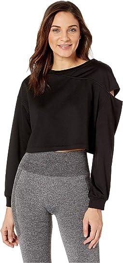 Fusion Crop Sweatshirt