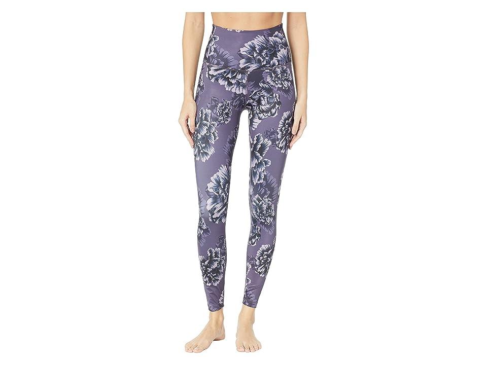 Beyond Yoga High-Waisted Midi Leggings (Peony Floral) Women