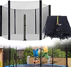 Trampoline-veiligheidsbehuizing Ademend Weerbestendig Trampoline-netvervanging Kan buiten het frame worden geïnstalleerd,1...