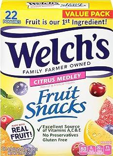 Welch's Citrus Medley Fruit Snacks, 19.8 oz