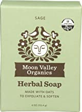 product image for Moon Valley Organics, Soap Bar Oatmeal Sage Organic, 4 Ounce