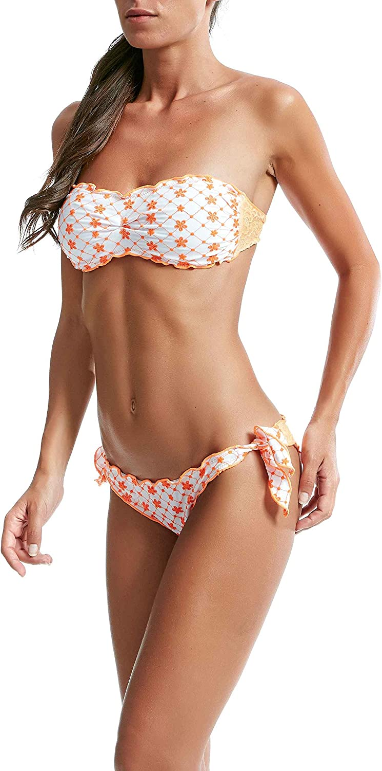 FK Women's 2C270U orange Polyamide Bikini