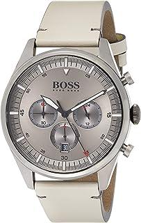 Hugo BOSS Reloj Analógico para Hombre de Cuarzo con Correa en Cuero 1513710
