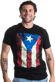Best puerto rico black flag shirt Reviews