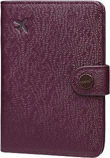 Zoppen Passport Holder Cover Wallet for Women Rfid Blocking Travel Wallet Id Card Case