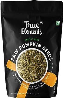 True Elements Pumpkin Seeds 500g   AAA Grade, Raw Pumpkin Seed, Diet Food