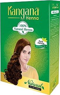 Kangana Henna 100% Natural Henna Powder for Hair - Hair Conditioning Henna Powder for Silky, Soft Hair Naturally - 150 Grams (5.3 Oz)