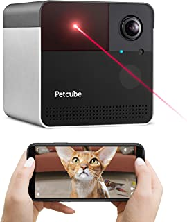 [New 2020] Petcube Play 2 Wi-Fi Pet Camera with Laser Toy & Alexa Built-In, for Cats & Dogs. 1080P HD Video, 160° Full-Roo...
