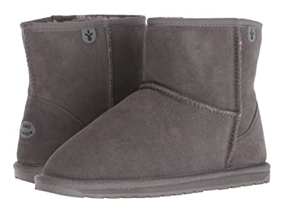 EMU Australia Kids Wallaby Mini (Toddler/Little Kid/Big Kid) (Charcoal) Kids Shoes