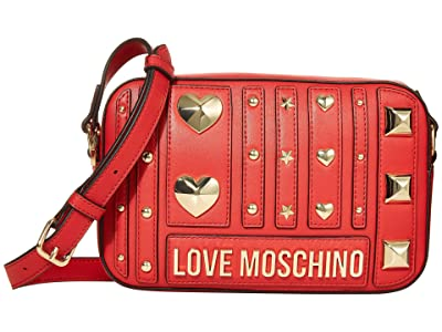 LOVE Moschino Love and More Bag (Red) Handbags