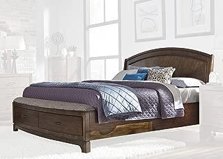 Liberty Furniture INDUSTRIES 705-BR-KSB Avalon III King Storage Bed, Pebble Brown