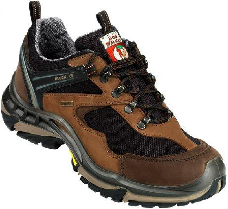 Baak DogWalker Sporty Casual shoes Waterproof Hiking Walking Boots, Size 42, Brown, 1026 - EN safety certified