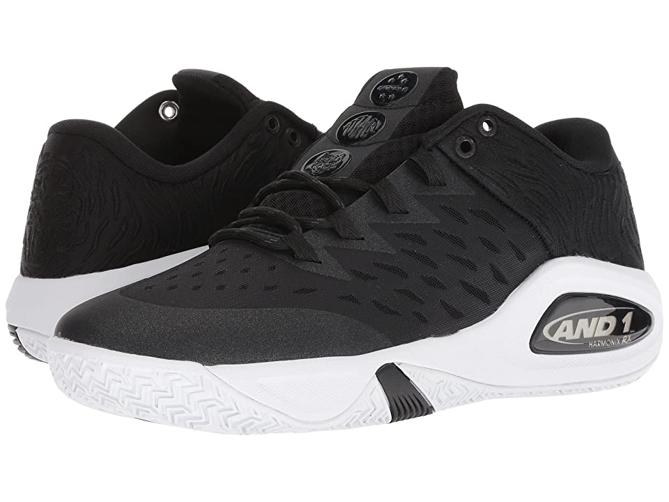 AND1 Attack Low (Black/Black/White) Men
