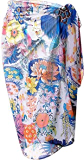 Women's Swimsuit Cover Up Sarong Bikini Swimwear Beach Cover-Ups Wrap Skirt
