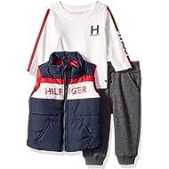 Tommy Hilfiger Baby Boys 3 Pieces Vest Set