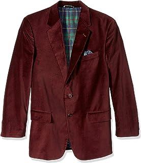Men's Portly Velvet Sport Coat