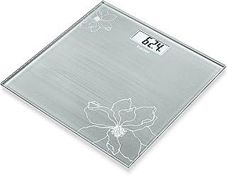 comprar comparacion Beurer GS 10 - Báscula de baño de vidrio, báscula extra plana de 1.9 cm, pantalla digital LCD con grandes dígitos (2.6 cm)...
