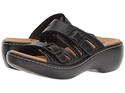 Clarks Delana Liri (Black Leather) Women