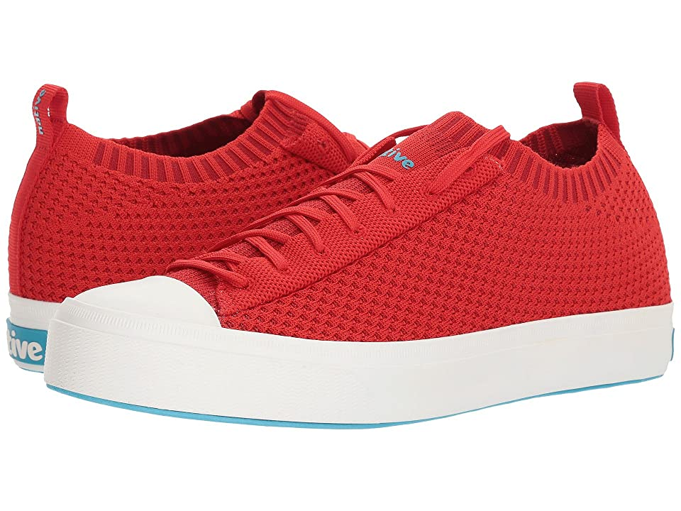 Native Shoes Jefferson 2.0 Liteknit (Torch Red/Shell White) Shoes