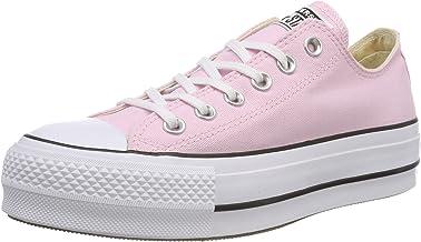converse imitacion mujer rosa