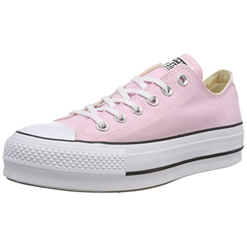 71c41458a3ca Converse Women s CTAS Lift Ox Cherry Blossom White Black Trainers