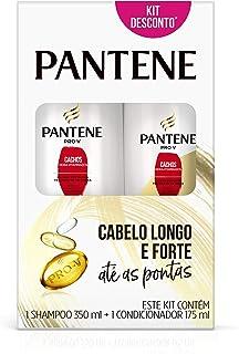 Kit Pantene Cachos Hidra-Vitaminados Shampoo 350ml + Condicionador 175ml