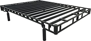 Forever Foundations Store More Black 2 Steel Bed Frame, Twin