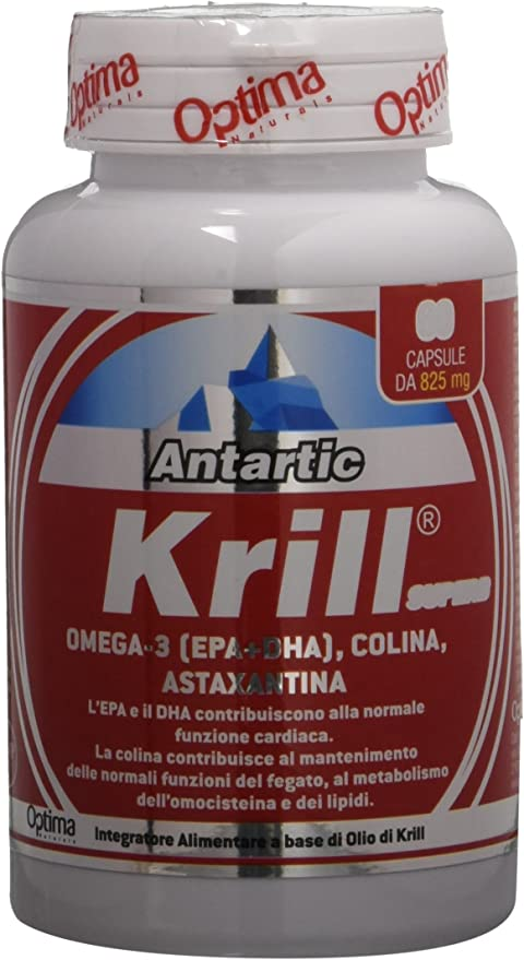18 opinioni per Optima Antartic Krill Superb, 60 Capsule da 825 Mg