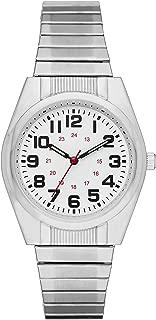 Folio Men's Silver-Tone Expansion Watch