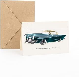 Hallmark Signature Men's Birthday Card for Him (Classic Car)