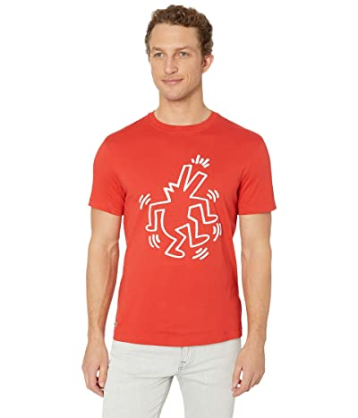 Lacoste Keith Haring Printed Jersey T-Shirt (Salvia) Men