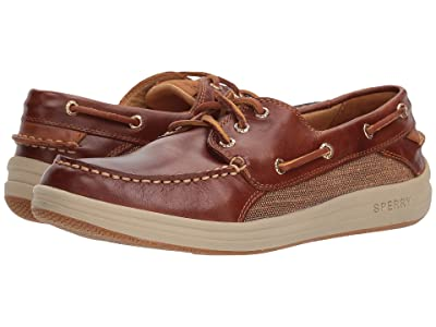 Sperry Gold Cup Gamefish 3-Eye (Brown) Men