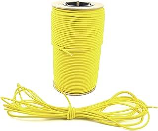 Marine Masters 25ft 3/16 Inch Yellow Bungee Shock Cord (25 Feet)