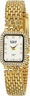 Burgi Women's Luxury Analogue Display Japanese Quartz Watch