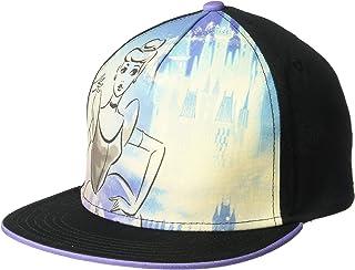 قبعة البيسبول سندريلا للصغار، باللون الأسود/الأبيض، مقاس واحد من ديزني
