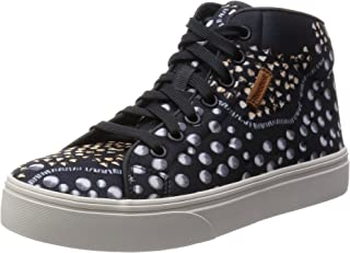 Reebok Womens Skyscape Dare Gravel Stud Casual High Top Shoes Sneakers Trainers