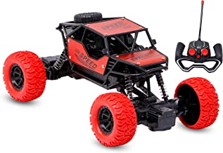 Zest 4 Toyz RC Car Rechargeable Remote Control 4WD High Speed Off Road Climbing and Monster Racing Rock Crawler Car for Bo...
