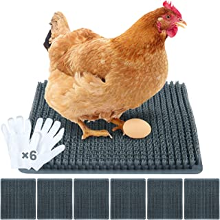 200g//7oz Natural Grass Chicken Nesting Pads Soft Chicken Bedding Nesting Box Grass Liner Eggs Laying and Protecting Nest Bottom Mats Poultry Supplies for Chicken Coop Hen House Chicken Hens Birds