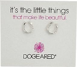 Dogeared - It's The Little Things: Horseshoe Earrings