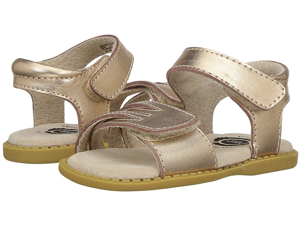 Livie & Luca Athena (Toddler/Little Kid) (Rose Gold Metallic) Girl