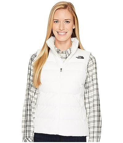 The North Face Nuptse Vest (TNF White/TNF Black) Women