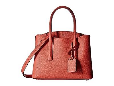 Kate Spade New York Margaux Medium Satchel (Peachy) Satchel Handbags