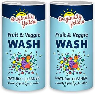 Originally Yellow Fruit and Veggie Wash [Value pack of 2x500g]